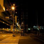 夜間ポートレート撮影